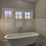 Bathroom Half Shutters