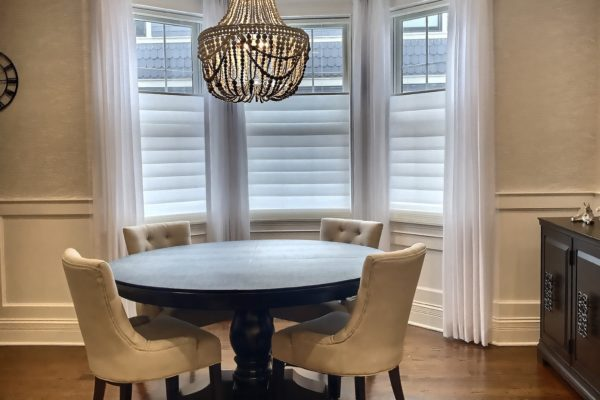 Vignette® Modern Roman Shades with PowerView® Motorization