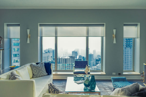 Designer Screen Shades with PowerView® Motorization