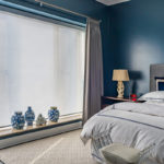 Designer Screen Shades with PowerView® Motorization with Custom Drapery