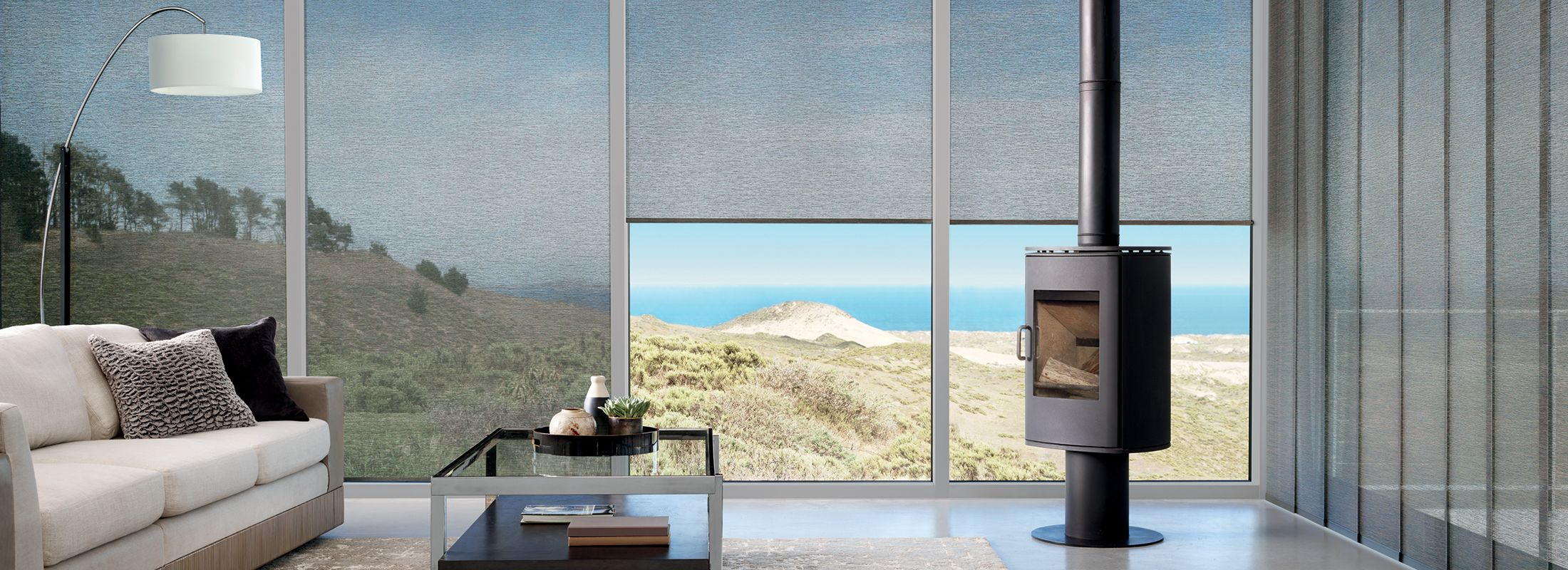 Alustra® Woven Textures® Shades & Alustra® Skyline®