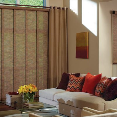 Skyline® Gliding Window Panels & Designer Roller Shades