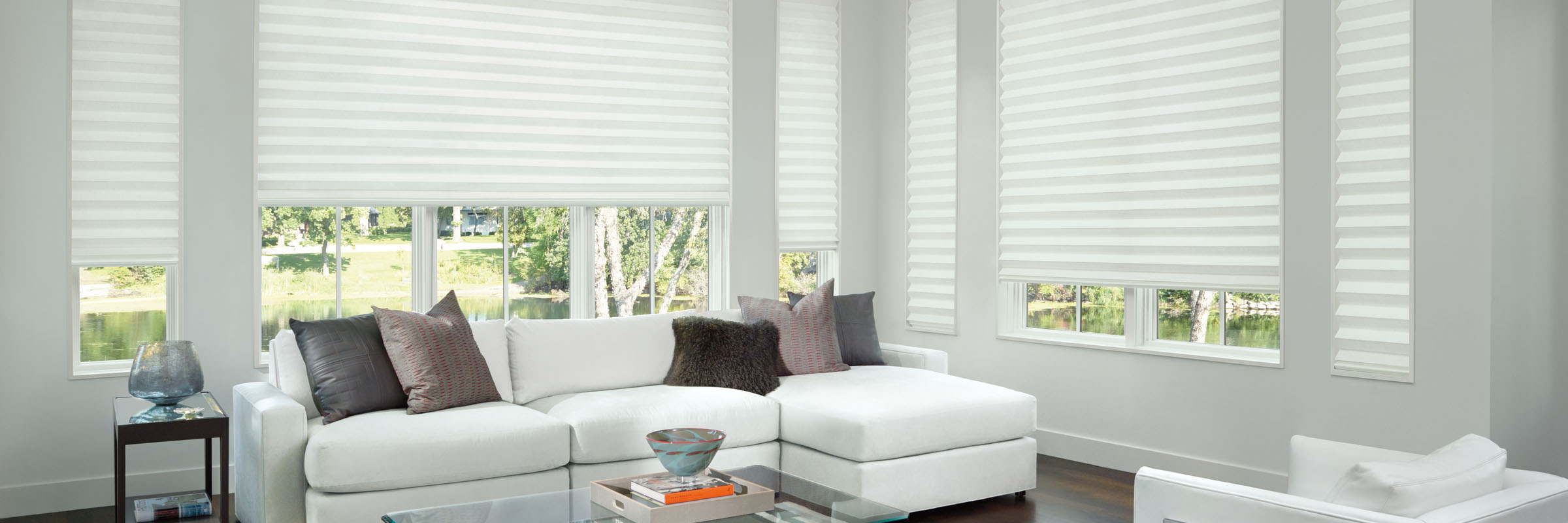 Solera® Soft Shades with PowerView® Motorization