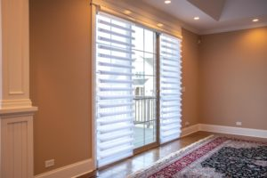 Pirouette® window shadings with PowerView® Motorization