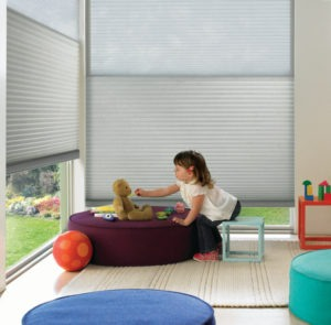 2018 Duette® with PowerView® Motorization Classic Whisper Kids Room