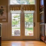 Pirouettes® with PowerView® Motorization and Custom Valances in Wayne
