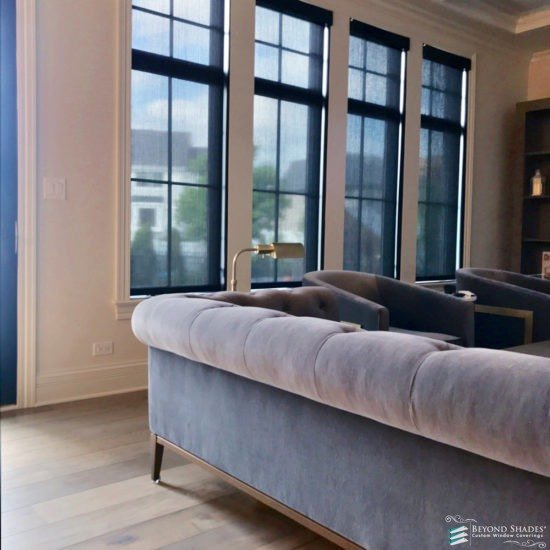 Designer Roller Shades With PowerView®