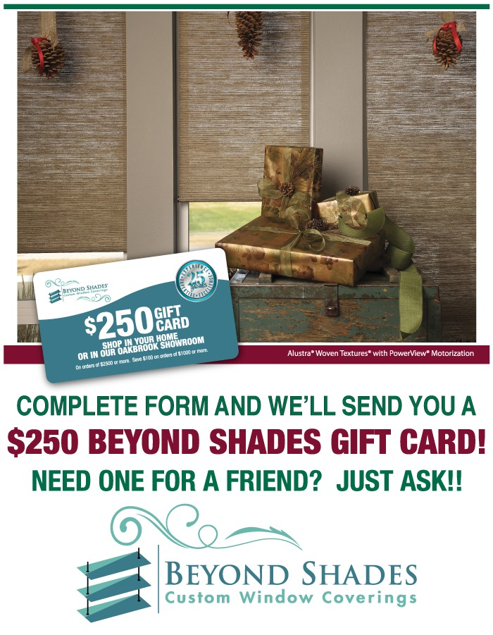 Beyond Shades $250 Gift Card Promotion