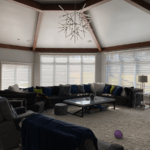 Silhouette® ClearView™ With PowerView® Motorization